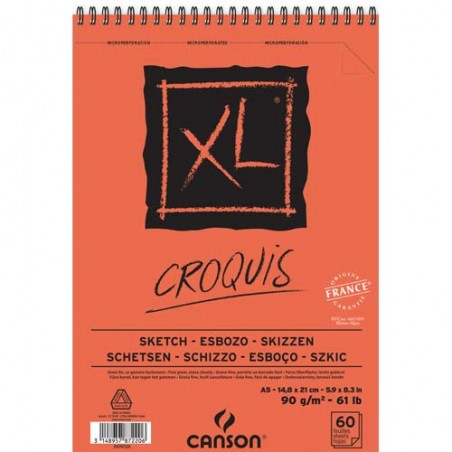 CAN CARNET CROQ 60F A5 XL 90G C200787220