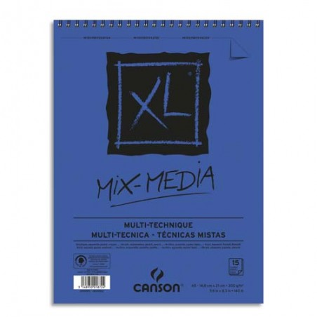 CAN CARNET MIXMED 15F A5 300G C200001872