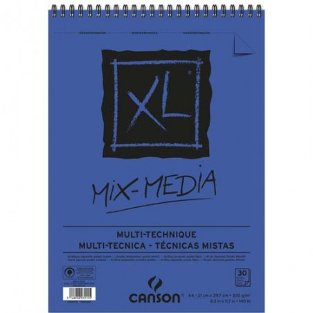 CAN CARNET MIXMED 30F A4 300G C200807215