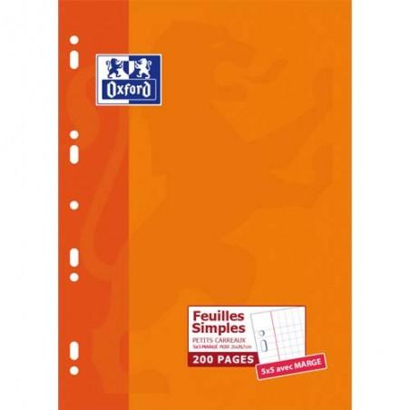OXF E/200C SIMPLE A4 5X5 100105677
