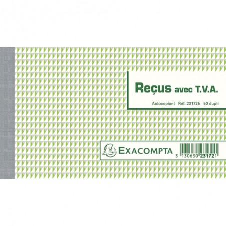 EXA MANIF RECU TVA 50F D 10.5X18 23172E