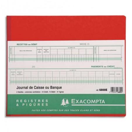 EXA PIQ CAISSE BANQ 31L 80P 27X32 6800E